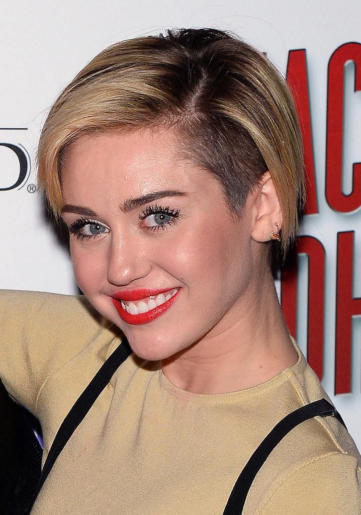 Miley Cyrus Short Haircuts