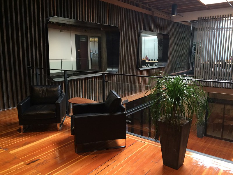 Lounge Area on Second Floor