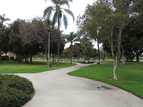 Pearson Park Near Downtown Anaheim, California
