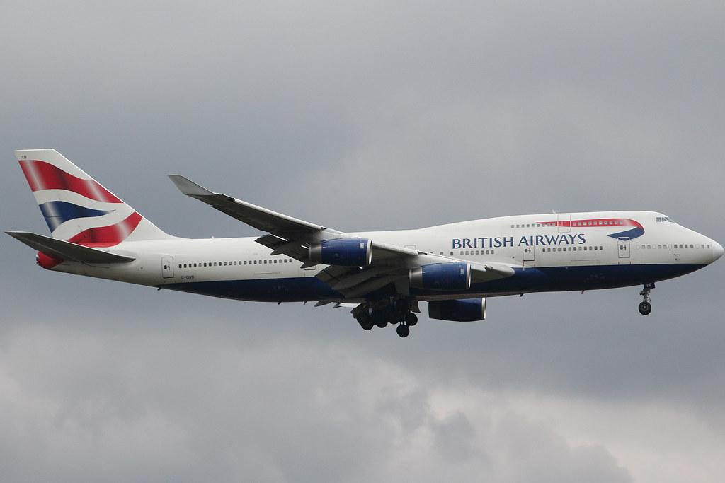 British Airways G-CIVB