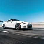 Nissan GT-R on Velgen Wheels VMB7 Matte Gunmetal 20x9 & 20x10.5