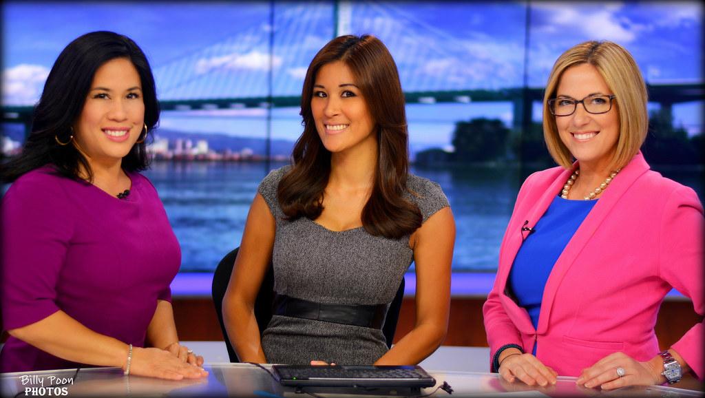 Liza Batallones, Maria Medina & Julie Watts KPIX 5   Flickr