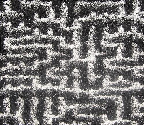 "Lia Cook ""maze pattern loom"""