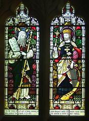 Moses and David