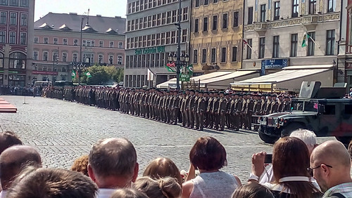 Military parade in Wroclaw | by bohumir.zamecnik