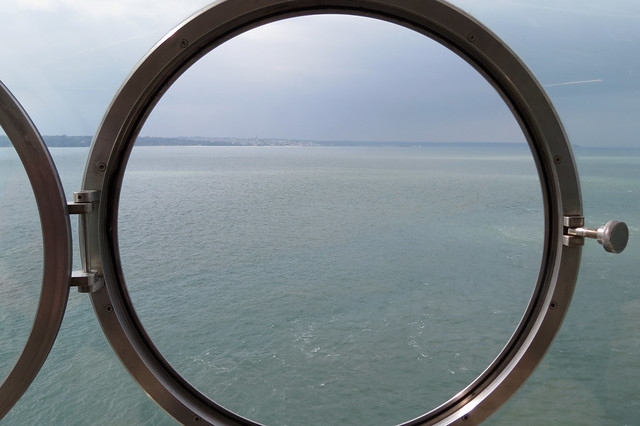 View from the Lighthouse, No Mans Land Fort