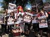 ילדים בהפגנה מול הכנסת 2010