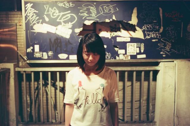 妹妹 Taipei, Taiwan / KONO! Kolorit / Nikon FM2