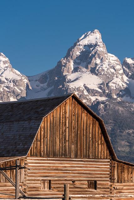 John Moulton Barn, Grand Teton National Park (2)