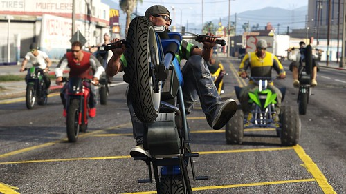 Grand Theft Auto Online Bikers 5 | by PlayStation.Blog