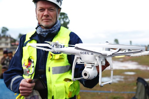 Drone surveillance helps search and rescue in Nepal   by DFID - UK Department for International Development