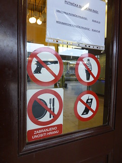 No guns, ice cream, mobile phones, plates or cutlery | by duncan