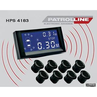Patroline HPS-4183 8 szenzoros tolatóradar.