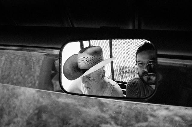 Mr.Jim and me 4-wheeler exploring