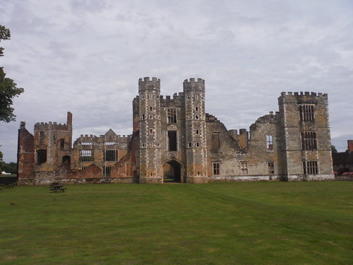 Cowdray House Ruin SWC Walk 48 Haslemere to Midhurst (via Lurgashall or Lickfold)