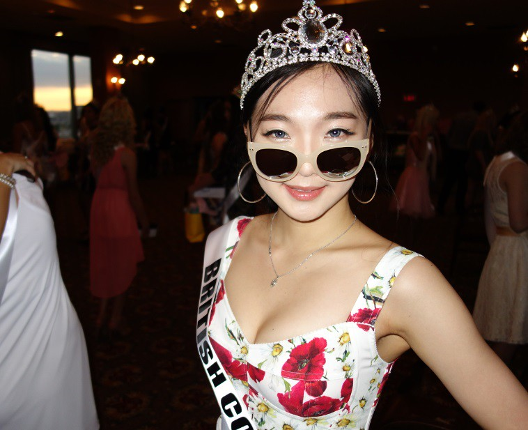 Miss Teen Vancouver, Evangaline at Sponsor Party | Here is M ...