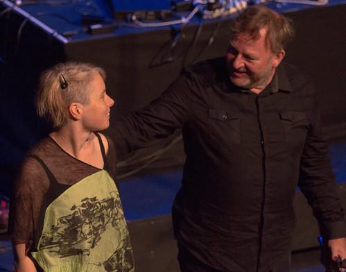 Garth Paine keynote concert @ NIME 2016 (with Vanessa Tomlinson) | by johnrobertferguson
