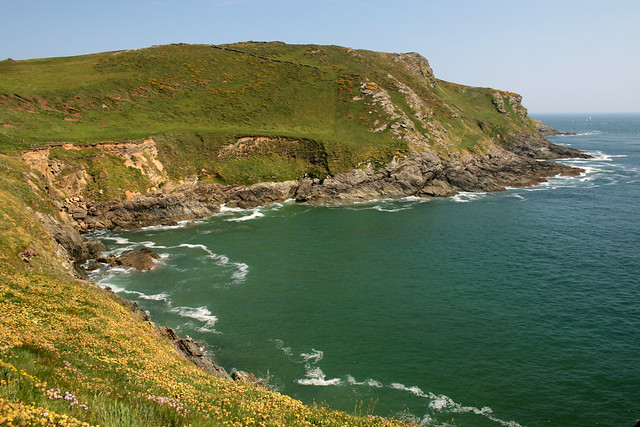View back to Prawle Point