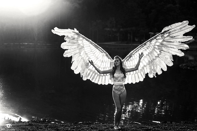 An angel in the form of woman!