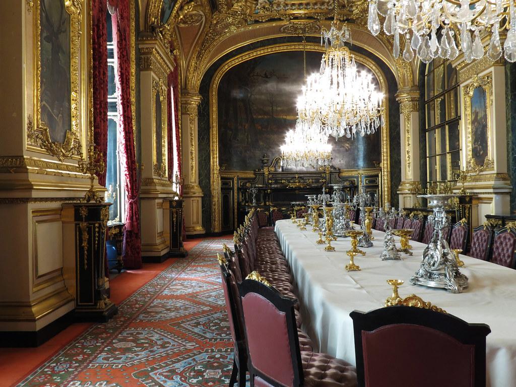 Salle A Manger Paris grande salle à manger, appartements de napoléon iii, musée