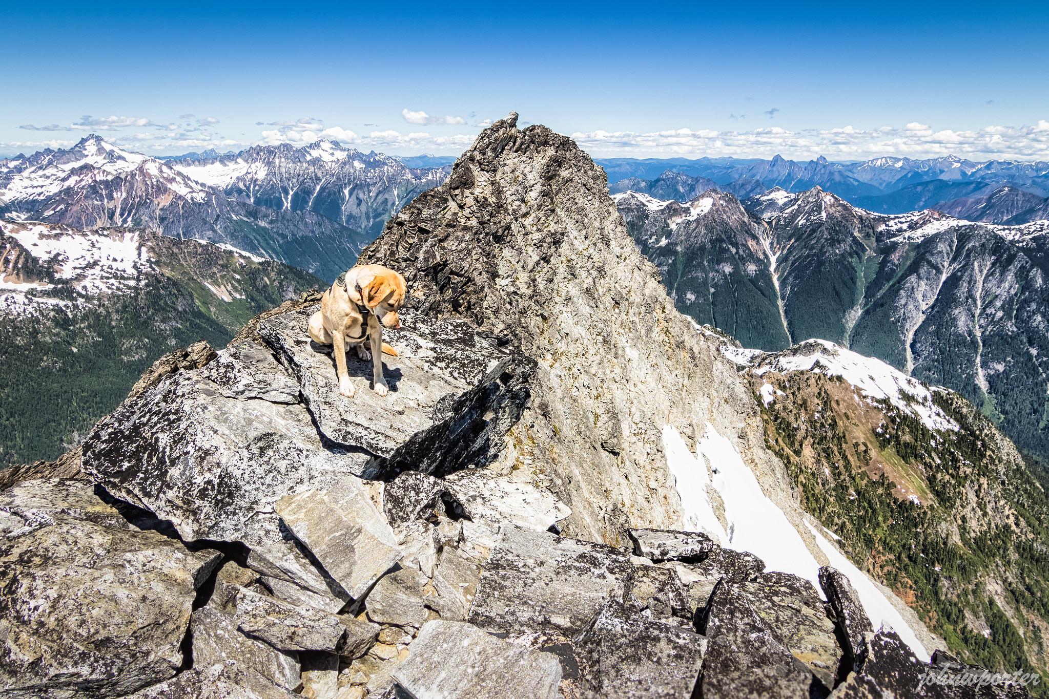 Luna Peak false summit