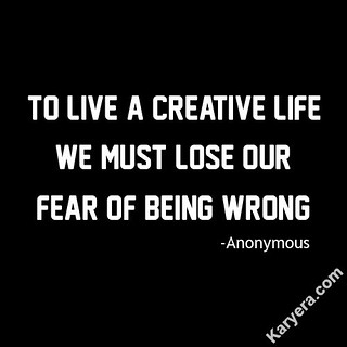 Anonymous-To-Live-a-Creative-Life-We-Must-Lose-Our-Fear-of-Being-Wrong | by KoolWebsites.com
