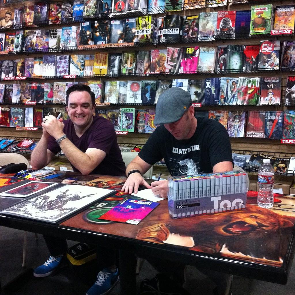 Valiant Free Comic Book Day: Valiant Day At Ryan's Comics
