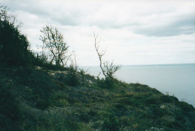 Unstable land near Luccombe