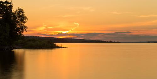 arnprior ottawariver robertsimpsonpark sunset ontario canada ca longexposure tripod neutraldensityfilter
