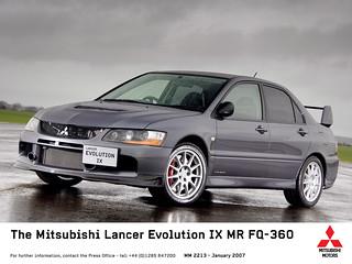 2005-2008 Mitsubishi Lancer Evolution IX - 01 | by Az online magazin