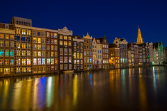 Classical canal houses Amsterdam, The Netherlands