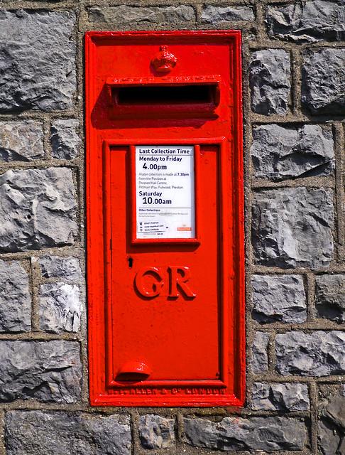 GR Postbox Silverdale