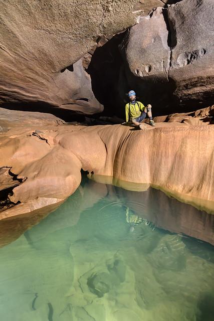 Ryan Gardner, Rocky River Cave, Warren County, Tennessee