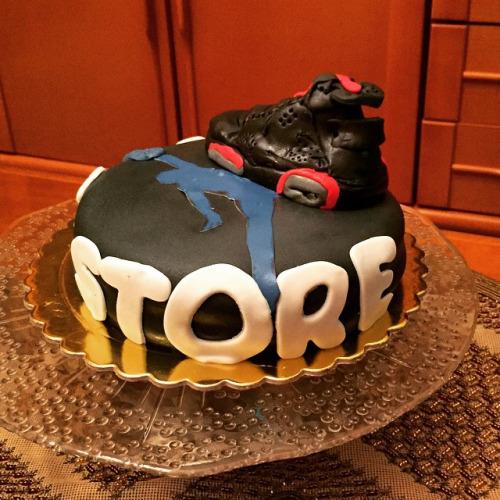 Marvelous Michael Jordan Birthday Cake 23 225 Amorino Kozani Flickr Funny Birthday Cards Online Elaedamsfinfo