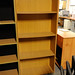 Oak tall bookcase