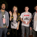 Fri, 24/04/2015 - 10:23am - Speedy Ortiz Live in Studio A, 4.24.2015 Photo by Deirdre Hynes