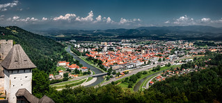 View of Celje | by Bernd Thaller