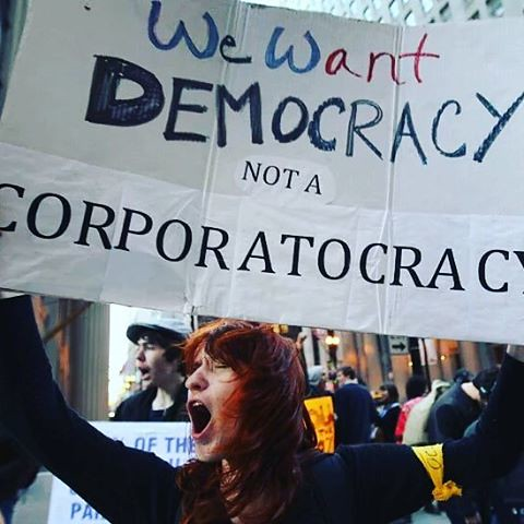 Dissent is the highest form of patriotism. Howard Zinn #Dissent #patriotism #protest #corporatocracy, From CreativeCommonsPhoto