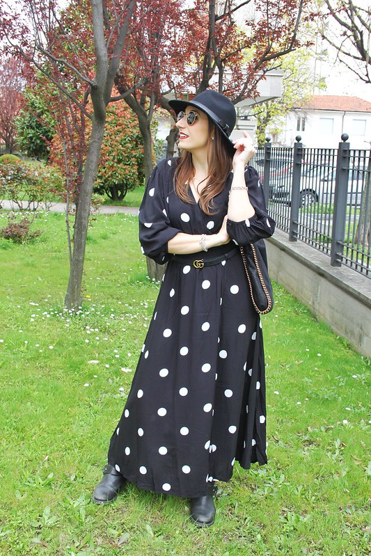 Pollo dots dress abito a pois trend di primavera