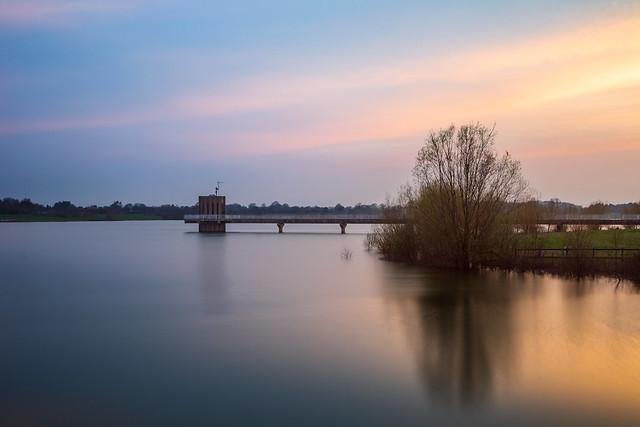 Alton Water Sunset