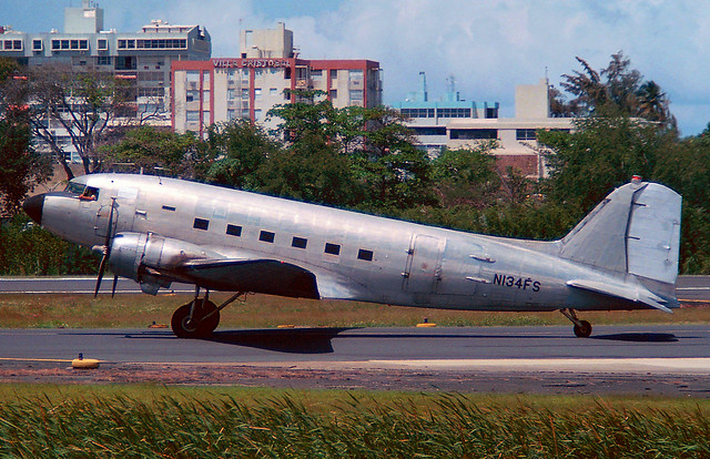 N134FS Douglas DC-3 'Four Star Air Cargo'
