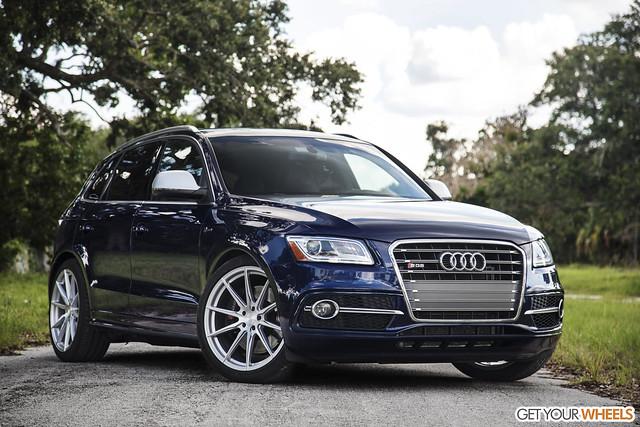 Audi SQ5 - Vertini RF1.1 Brushed Silver