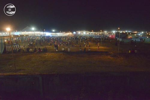 Night views of Samagam Ground