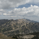 Looking north from Rendezvous Mountain