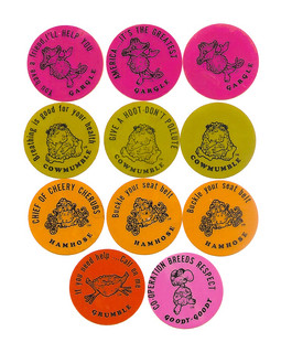 Vintage 70's Ralston Freakies Cereal Fun Dots Premium