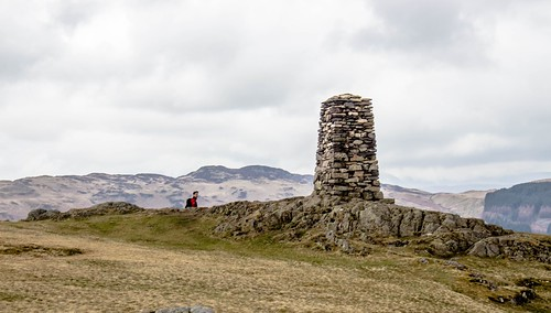 Preposterously large cairn!   I mean, it's beautifully ...