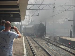 SSN 01 1075 maakt mist bij vertrek uit Dordrecht centraal | by TimF44