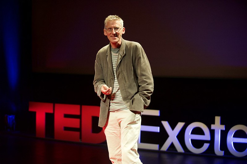 Clive Stafford-Smith speaking live at TEDxExeter 2015