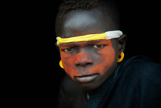 Young Mursi boy - Omo Valley - Ethiopia