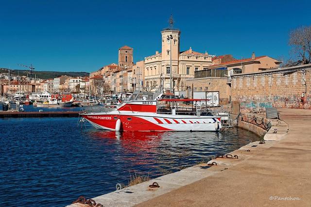 La Ciotat : Sea firefighters boat